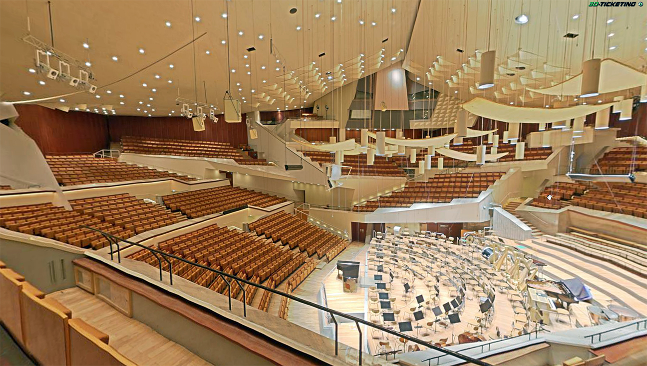 Berlin Philharmonic hall
