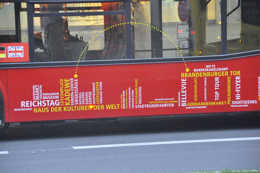Berlin tour bus