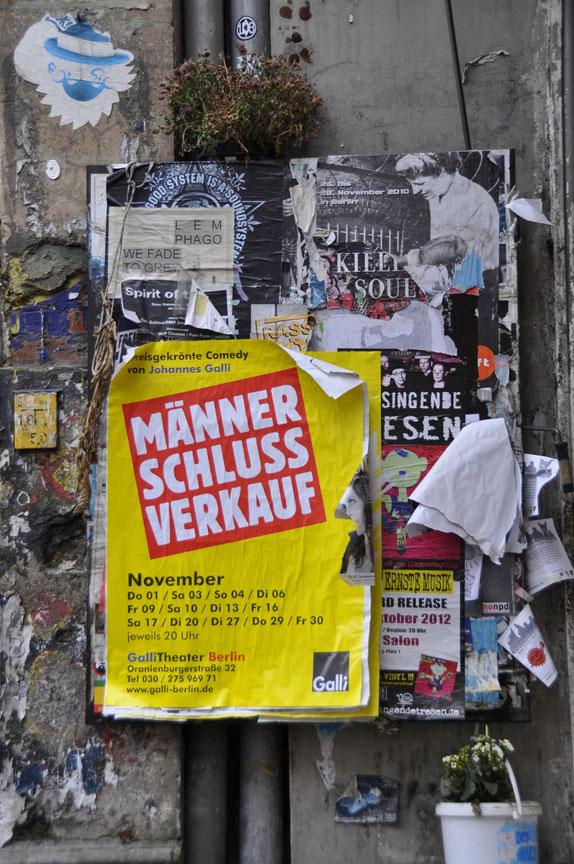 "Poster ""End of Season Sale on Men"""
