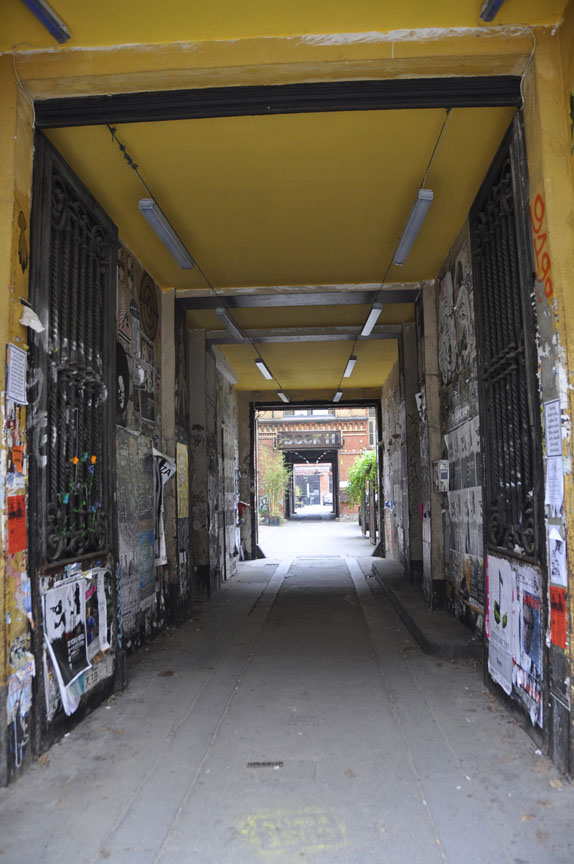 Doorway into a Berlin courtyard