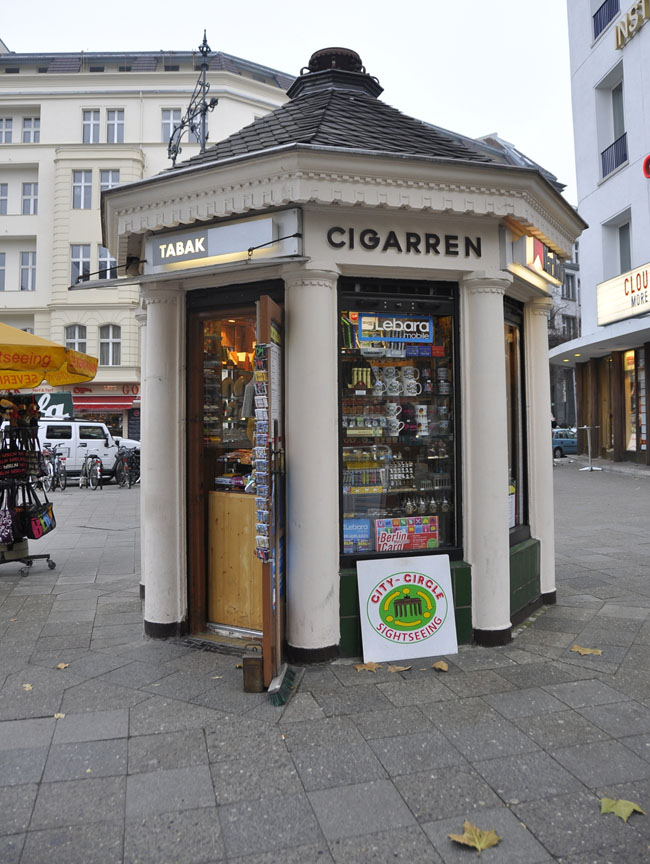 Street kiosk at Kurfürstendamm, Berlin