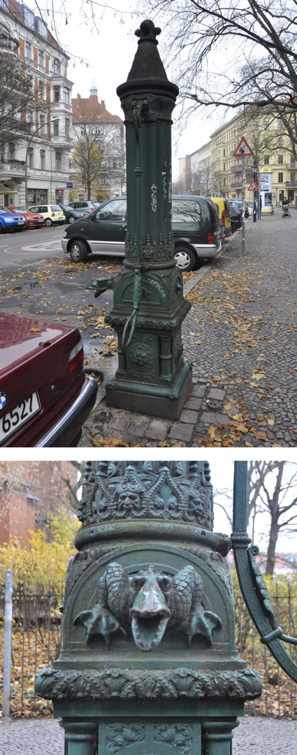 Curbside water pump