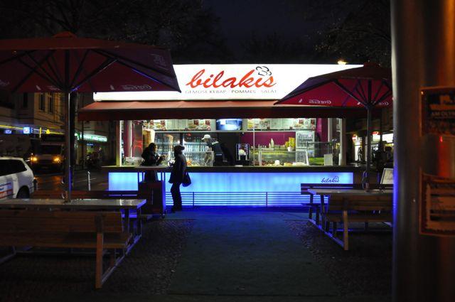 Berlin street food bistro
