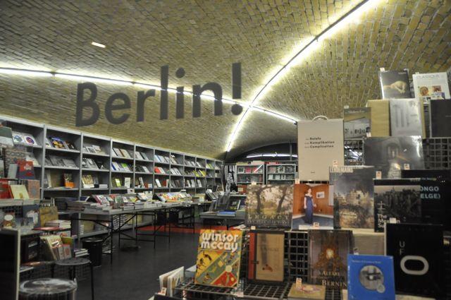 Shops under the U-Bahn, Berlin