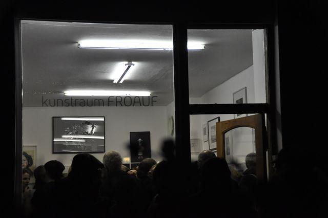 Gallery opening, Berlin