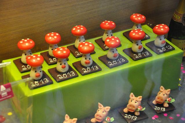 German lucky mushroom