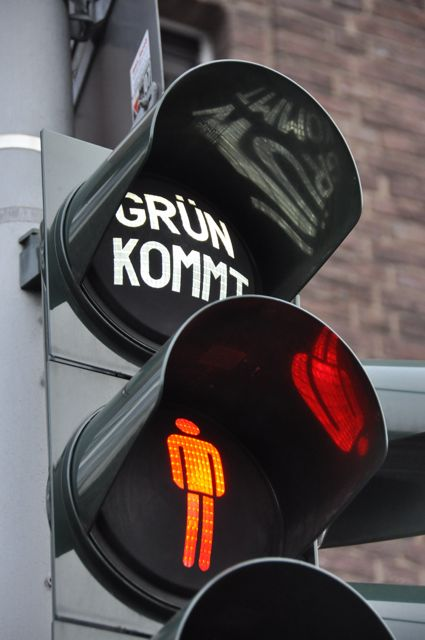 Traffic light, Germany