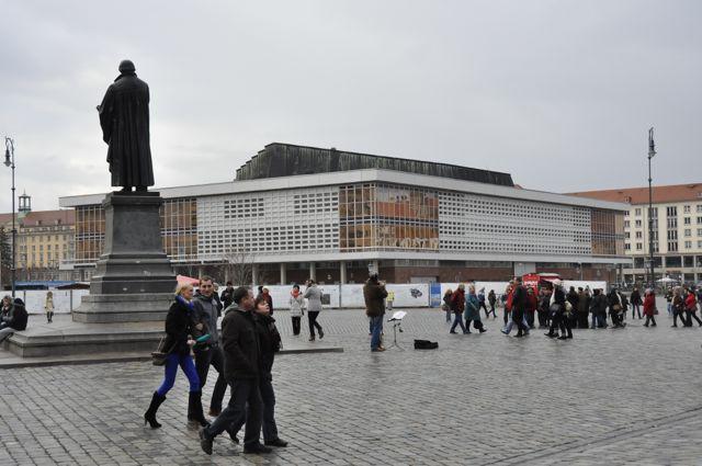 Dresden socialist architecture