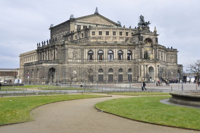 The Semper Oper in Dresden
