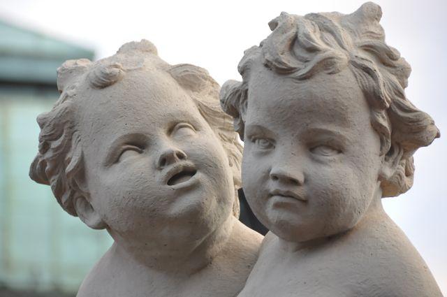 Dresden baroque sculptures