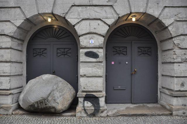 Boros Collection, bunker entrance
