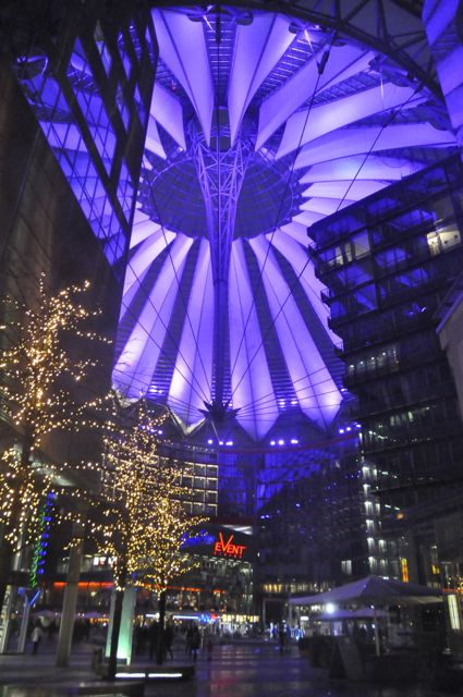 Sony Center near Potsdamer Platz, Berlin
