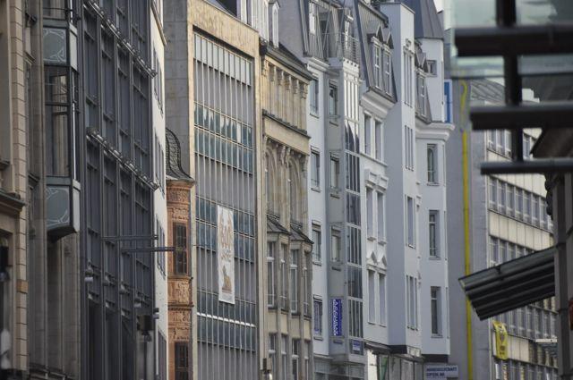 Leipzig building facades