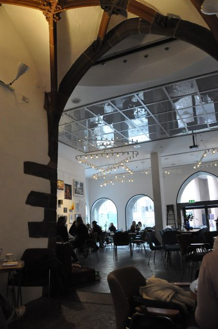 Frankfurt, Cafe am Kunstverein
