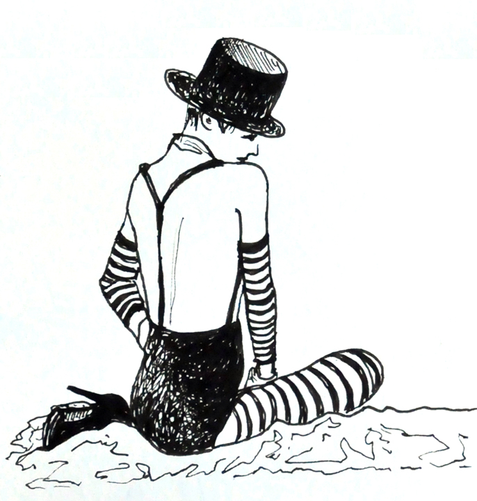 Dr. Sketchy's Berlin drawing