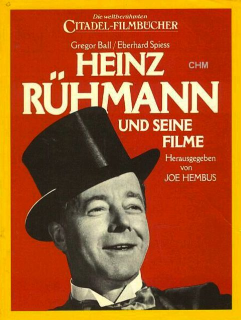 A poster with the actor Heinz Rühmann