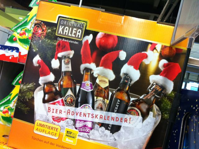 Bier-Kalender/Beer Advent calendar