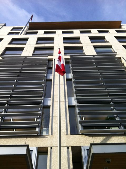 Canadian embassy in Berlin