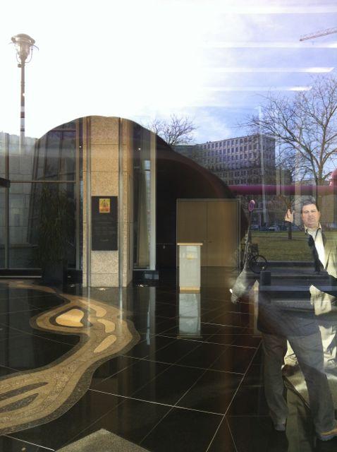 Canadian embassy lobby