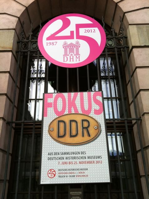 Fokus DDR — exhibit on East Germany at the German Historical Museum, Berlin