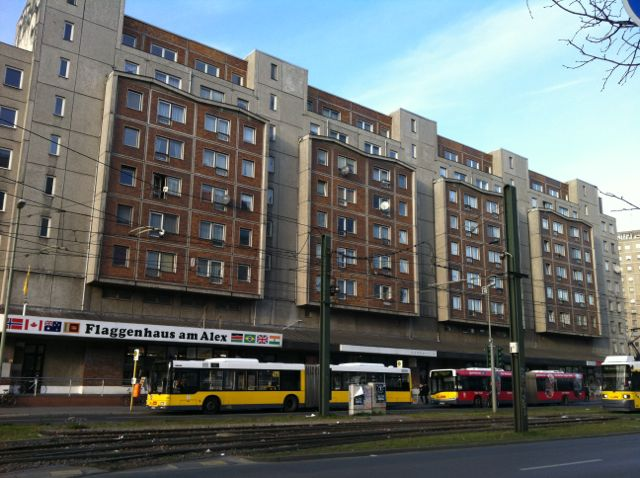 Soviet-style building, Alexanderplatz, Berlin