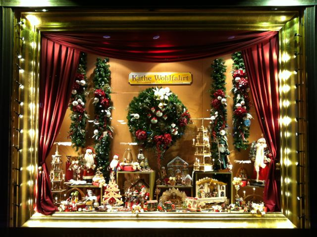 Christmas window display