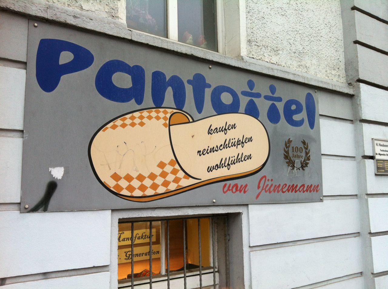 Jünemann's Pantoffeleck, Berlin