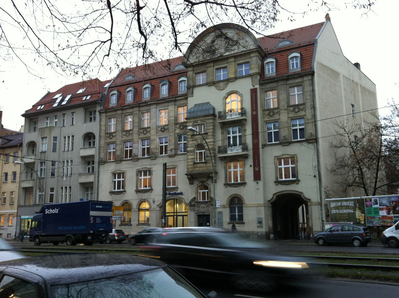 Berlin apartment building