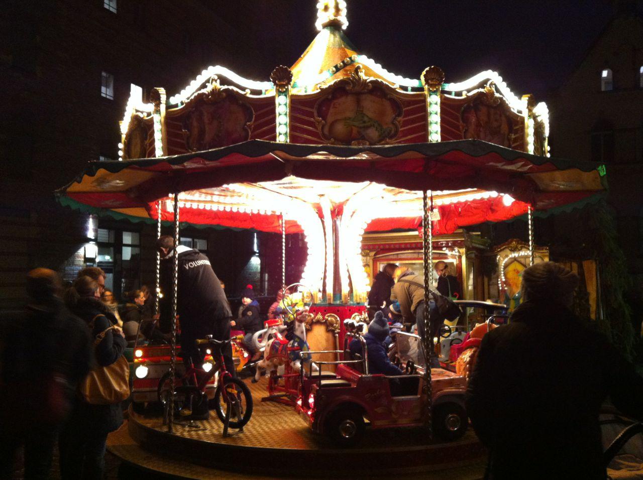 Lucia Christmas market, Berlin