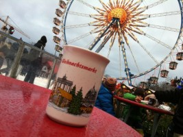 Glühwein at the Berliner Christmas market