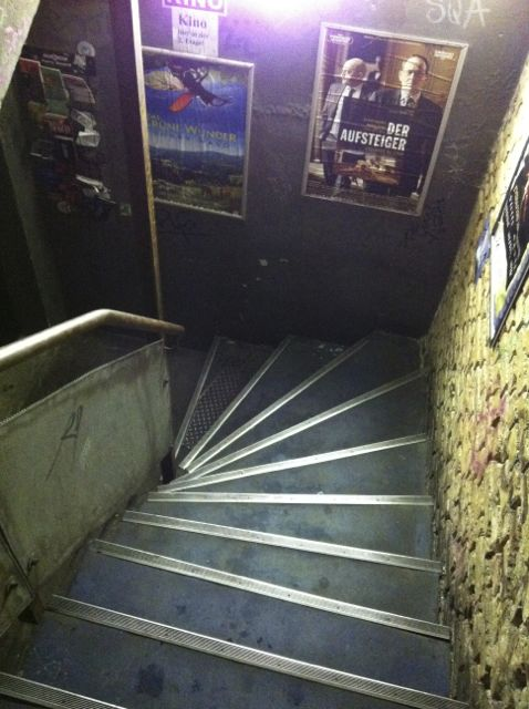 Staircase in the Acud Kino