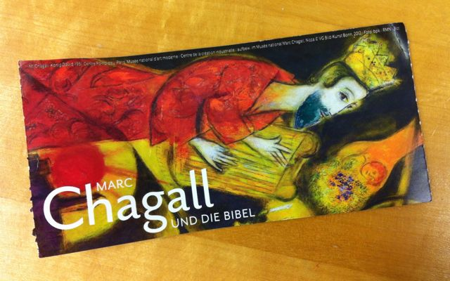 Chagall and the Bible art exhibit, Münster, Germany