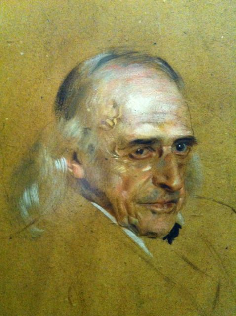Portrait of Theodor Mommsen by Franz von Lenbach, 1897