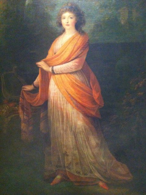 """The Princess Warwara Wassiljewna Galitzin"" by Heinrich Friedrich Füger, 1798(?)"