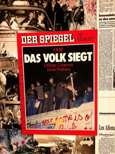 Spiegel magazine cover from the weekend of November 10, 1989