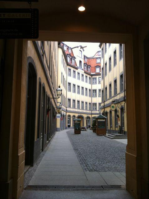 Leipzig courtyard