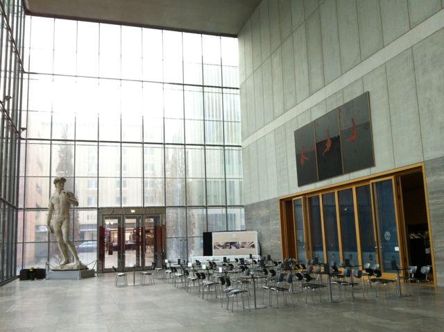 Leipzig Museum der bildenden Künste interior