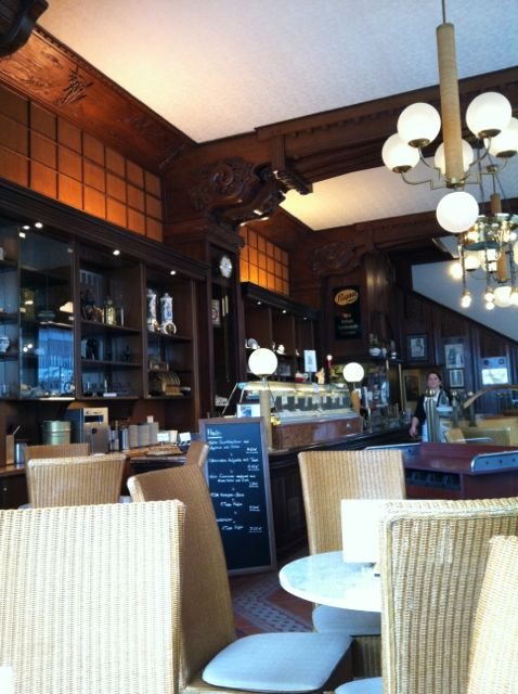 Riquet Chocolate Cafe, Leipzig, interior