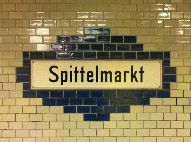U-Bahn signage, Berlin