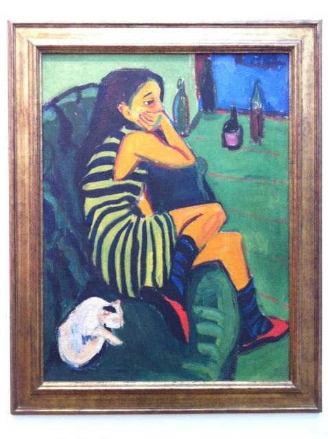 Painting by Ernst Ludwig Kirchner