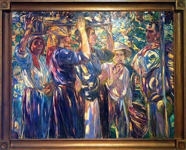 Dora Hitz painting