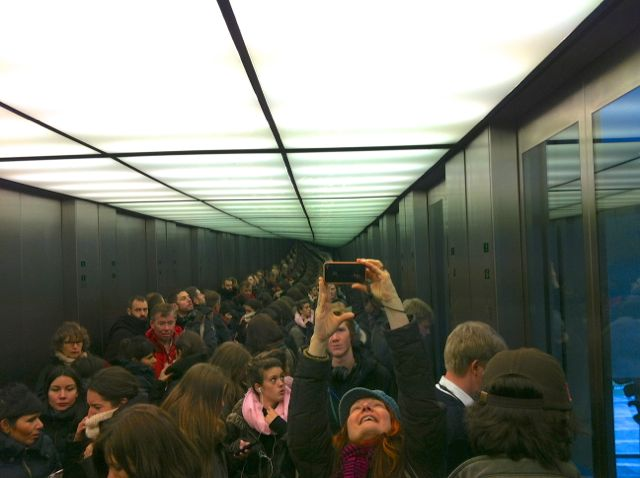 Elevator at the Berlin Reichstag