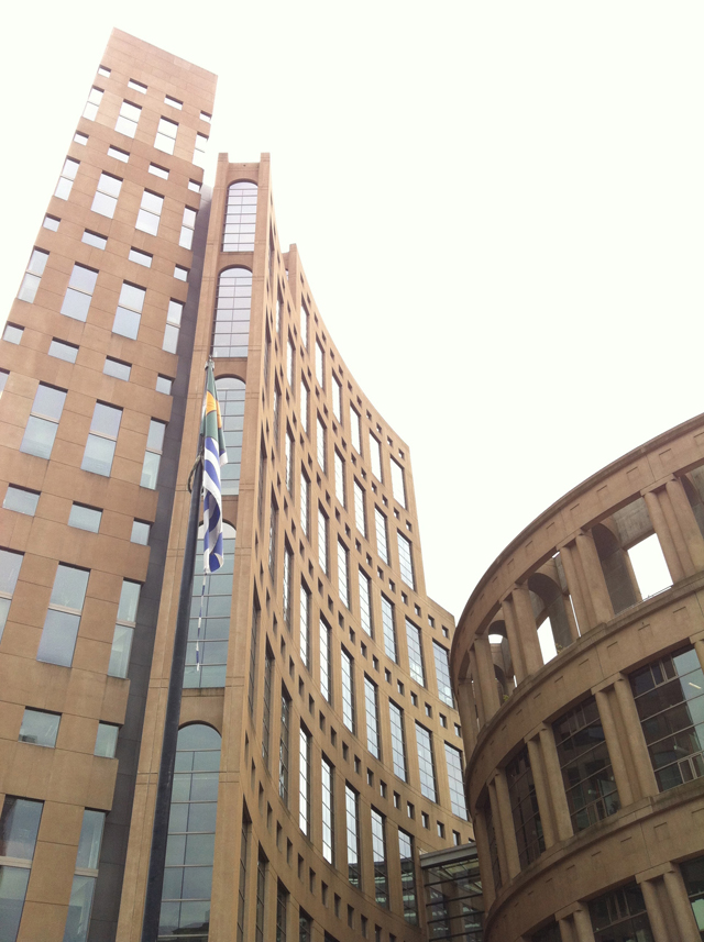 Vancouver Public Library outside view.