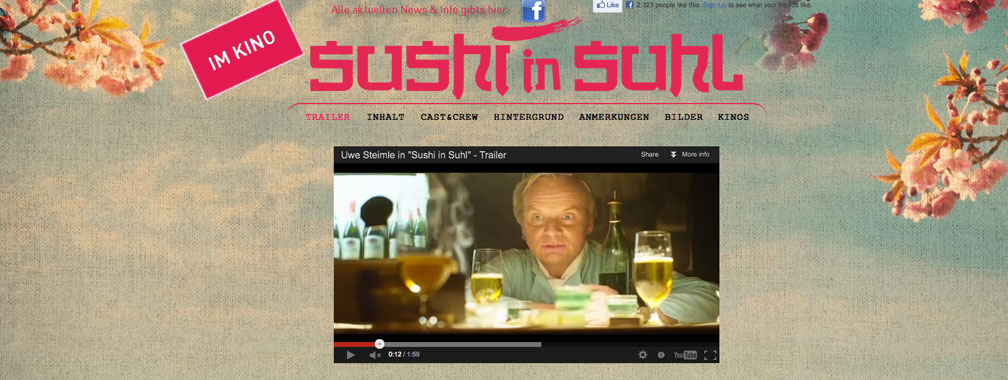 German movie Sushi in Suhl